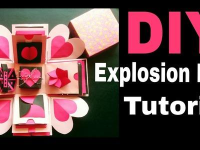 Explosion Box Tutorial | DIY | Valentine's.Anniversary Gift Idea