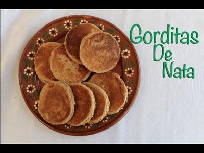Gorditas De Nata. Sweet Cream Griddle Cakes (How to)