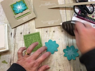 "How to create an AWESOME Big on Birthday's Card using ""THAT"" stamp!"