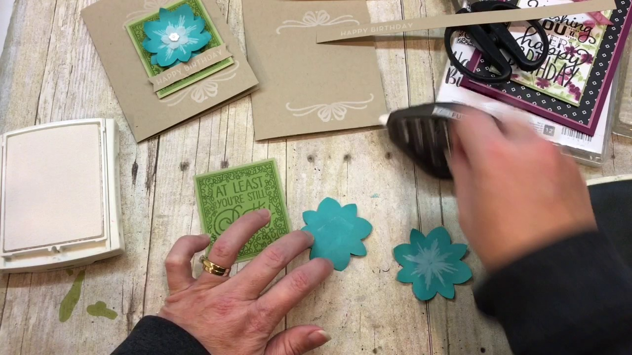 """How to create an AWESOME Big on Birthday's Card using """"THAT"""" stamp!"""