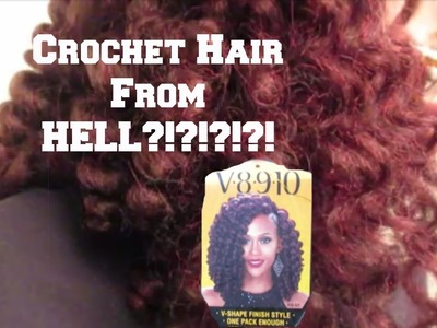 HOW TO crochet braids for Fine.Thin Natural Hair: Tutorial & Review Zury V8•9•10 Rod Set