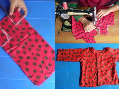 How to Cutting and Stitching New Born Baby Dress by NT Fashion Point