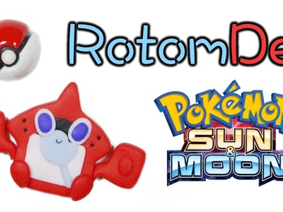 How to DIY Rotom Pokedex (RotomDex) Polymer Clay Tutorial | Pokemon Sun and Moon