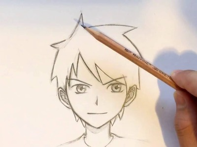 How to Draw Anime Boy Hair [Slow Narrated Tutorial] [No Timelapse]