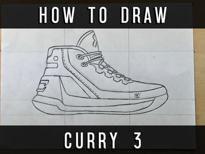 How To Draw: Curry 3  + GIVEAWAY!! w. Downloadable Stencil