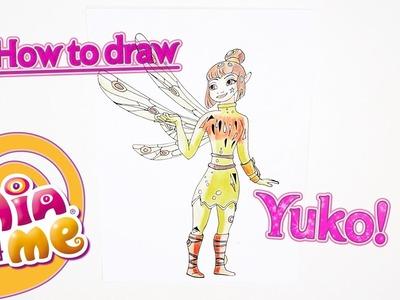 How to draw Yuko - Mia and me