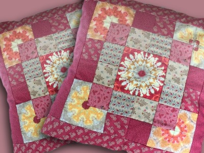How to make a mandala patch cushion panel