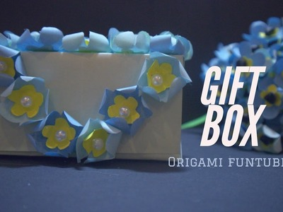 How to make a paper box - gift box ideas