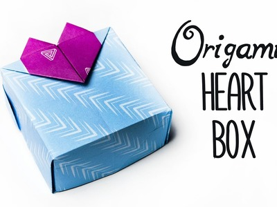 How to Make a Paper Heart Box | DIY -  Valentine's Day