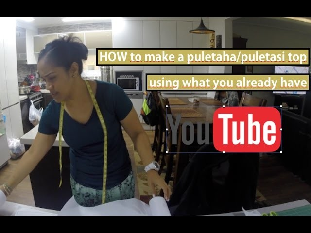 HOW to make a puletaha top | puletasi top using what you already have