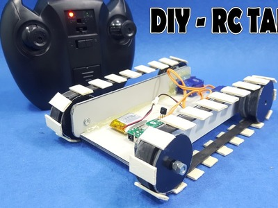 How To Make A RC Tank - v3 - DIY RC Car Simple