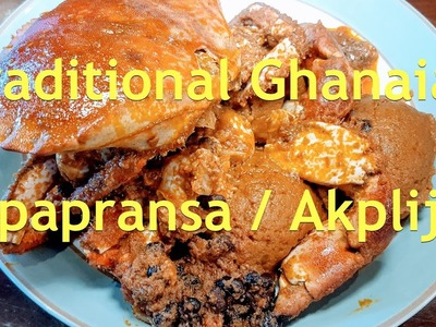 How to make Apapransa - Traditional Ghanaian Delicacy
