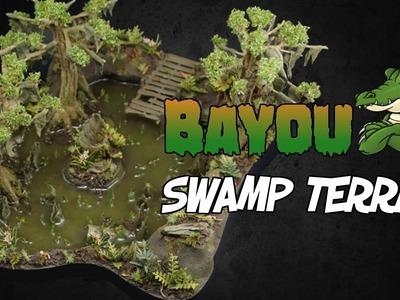 How To Make Bayou Swamp Terrain