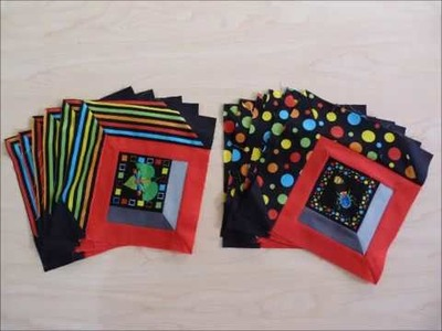 How to make Bugs in Boxes Quilt Part 1 of 3 - Quilting Tips & Techniques 210
