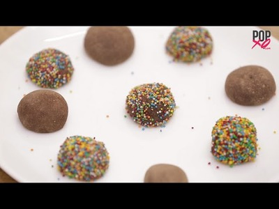 How To Make Chocolate Fudge Balls - POPxo Desserts