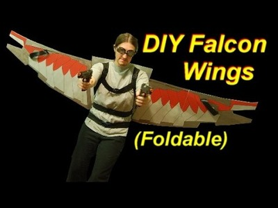 How to Make Falcon Wings (Foldable)