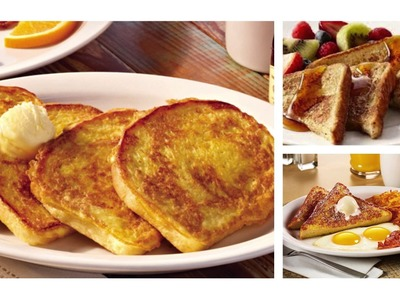 How To Make French Toast Without Milk And Vanilla Extract