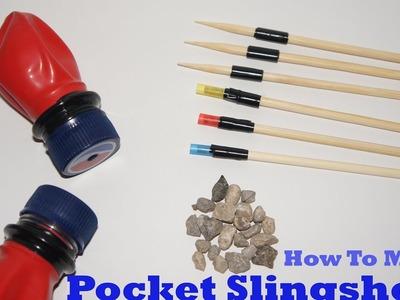 How To Make Pocket Slingshots|Awesome ideas|DIY|Life Hacks