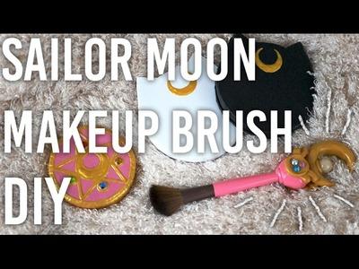 How To Make Sailor Moon's Wand Makeup Brush : DIY