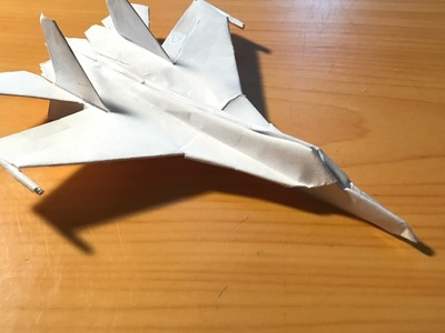 How to make the Su-27 Flanker