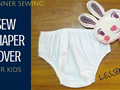 How to Sew a Simple Baby Diaper Cover with Free Pattern