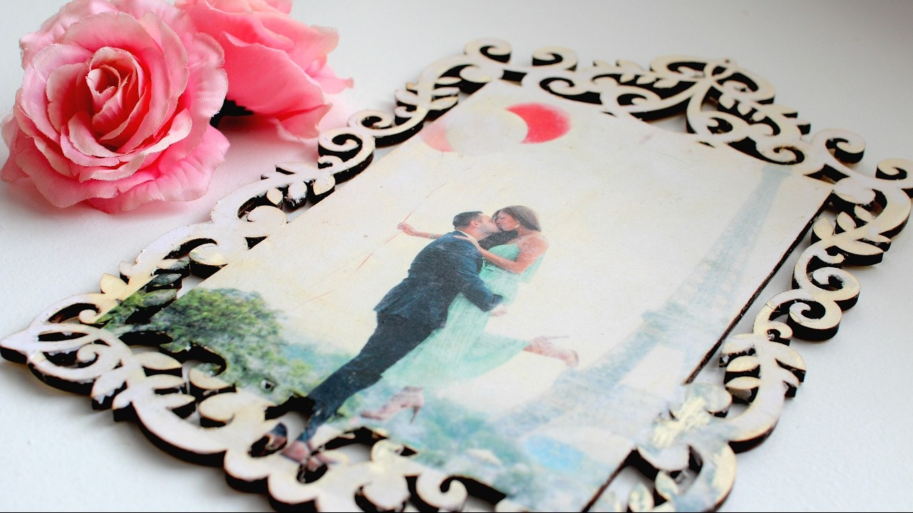 HOW TO TRANSFER A PHOTO TO WOOD- EASY!