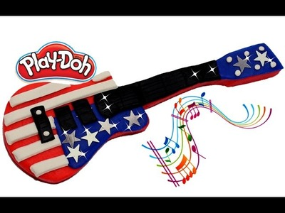 Learn to Make Play Doh Music DIY Guitar Fun and Creative Toys for Kids