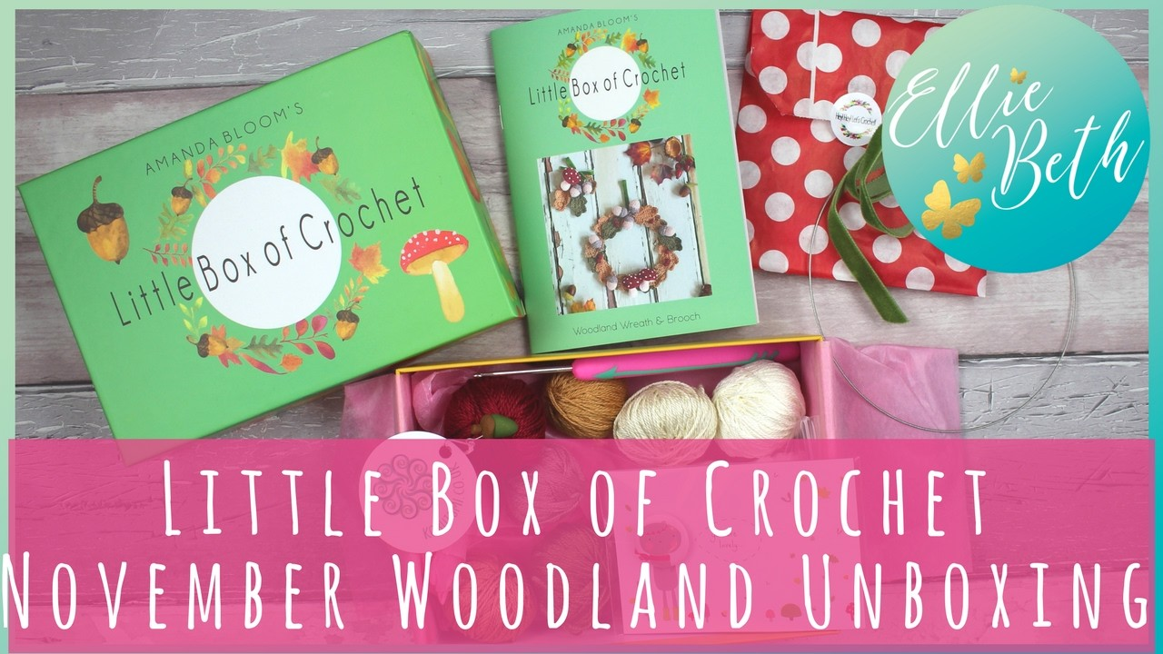 Little Box of Crochet - November Woodland Unboxing!