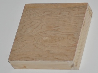Making A Wood Art Canvas - DIY Stuff by DKS