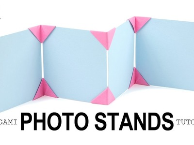Origami Photo Display Stand Tutorial ♥︎ DIY ♥︎ Paper Kawaii