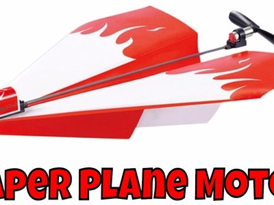 Paper Plane Powerup With Motor Unboxing and honest Review on it by ThinkUnboxing in 4k