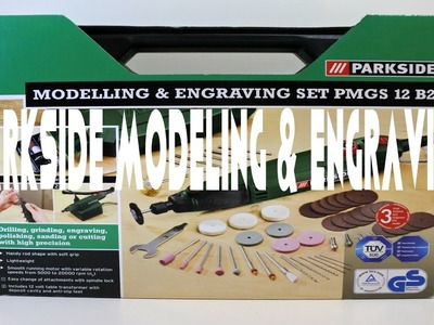 Parkside Modeling and Engraving pmgs 12 B2 Tool for Diy Enthusiasts