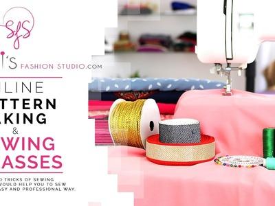 Savi's Fashion Studio online sewing classes