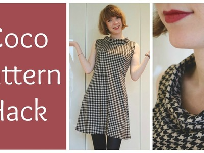 Sewing a Houndstooth Coco Pattern Hack
