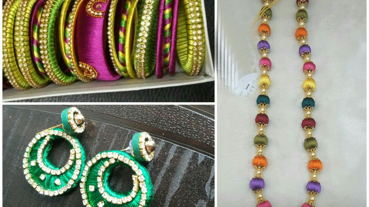 Silk thread jewellery making tips|Top 5 tips to make perfect silk thread jewellery