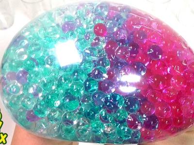 StressBall Orbeez DIY Colorful Balloon Learn Colours Play Doh Pororo Poli Car Names