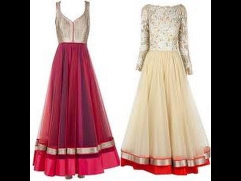 Umbrella Frock. Anarkali Lehnga Suit Silai - Hindi: cutting sewing Circular Frock Gown Maxi Pattern
