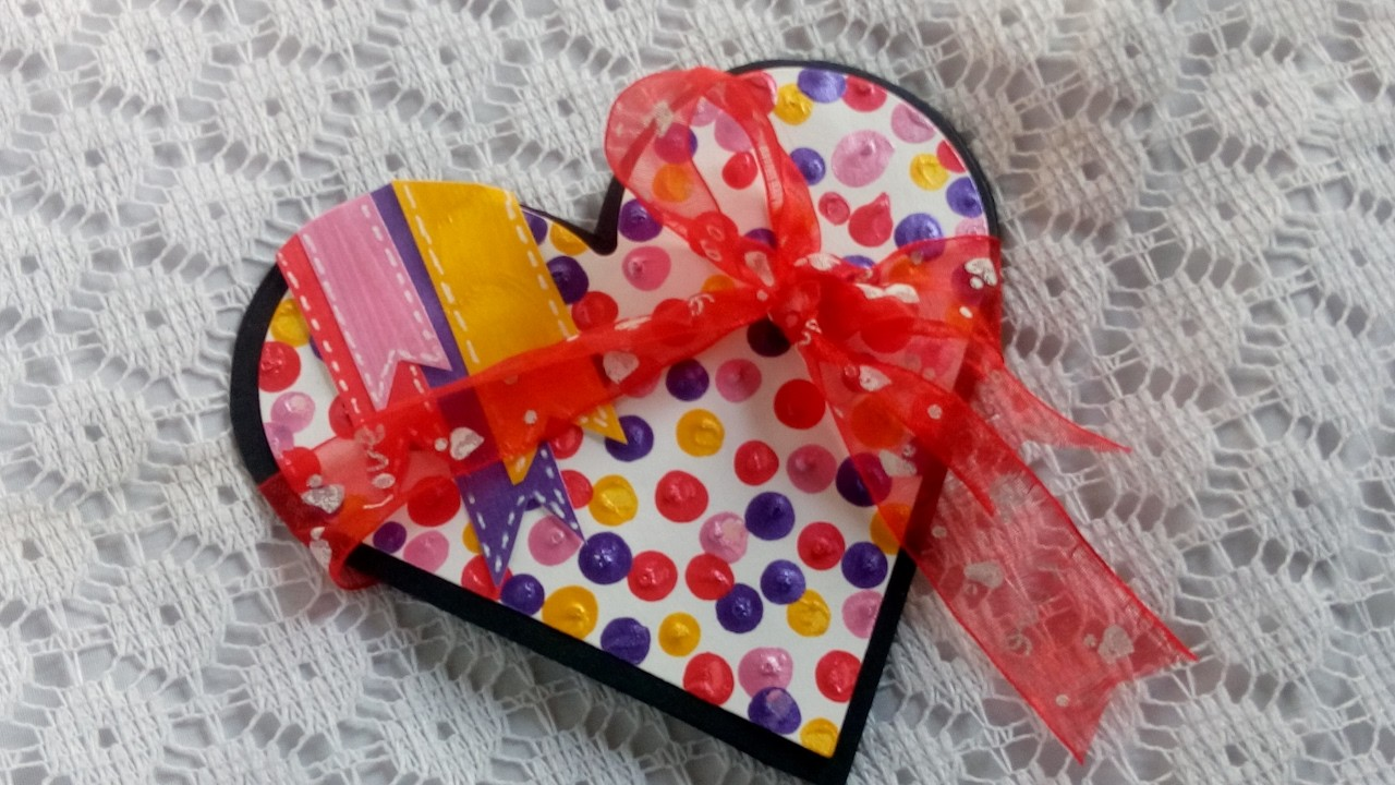 Valentine's day card - DIY| Tutorial| How to make Heart Pop Up card