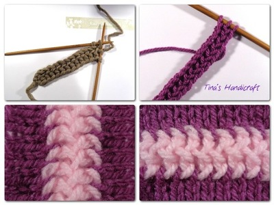 Video 1 - knitting string , video 2 - how to join two pieces knitted