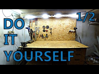 #17 Making Great WORKBENCH to the shop part 1.2 (welding) DIY