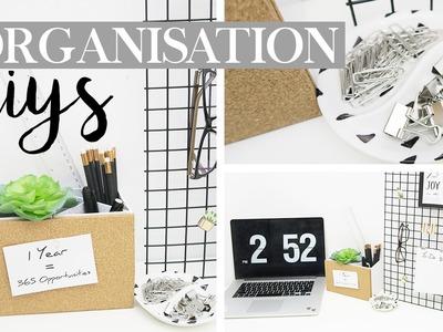 3 Easy Organisation DIY's - Desk Goals