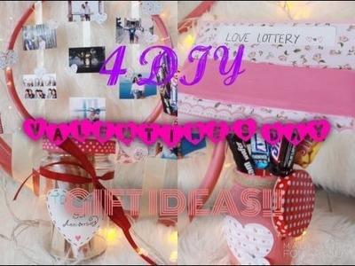 4 DIY VALENTINE'S DAY GIFT IDEAS