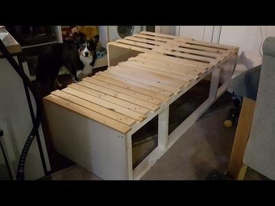 Camper Van Conversion DIY Bed | The Carpenter's Daughter