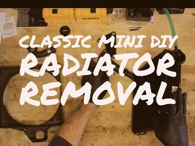 Classic Mini DIY - Radiator Removal and Replacement - Part 1