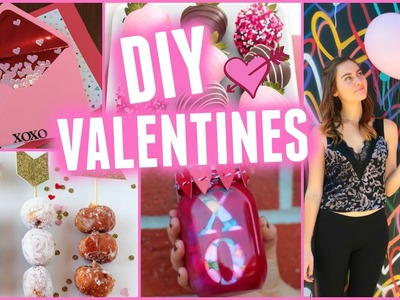 Cute DIY Valentine's Day Gifts & Treats!