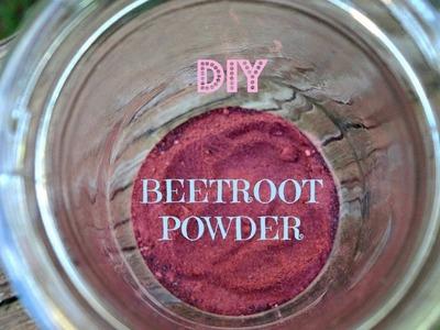 DIY Beetroot Powder for Recipes & Natural Makeup
