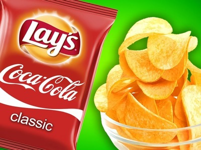 DiY - Chips with Coca Cola Flavour