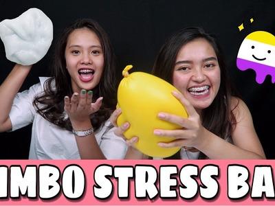 DIY FOAM SLIME & JUMBO STRESS BALL W. OLA TOBING | Indira Kalistha