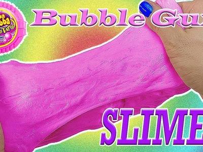 DIY: Foamy Bubble Gum Slime! Blow REAL Bubbles! No Borax, Starch, or Shaving Cream! *Not EDIBLE*