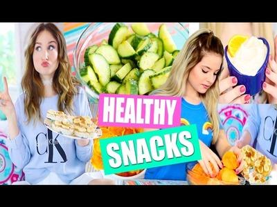 DIY Healthy After School Snack Ideas